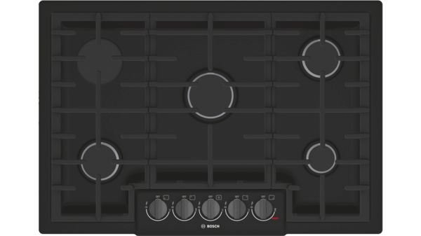 800 Series Gas Cooktop 30'' Black NGM8046UC NGM8046UC-1