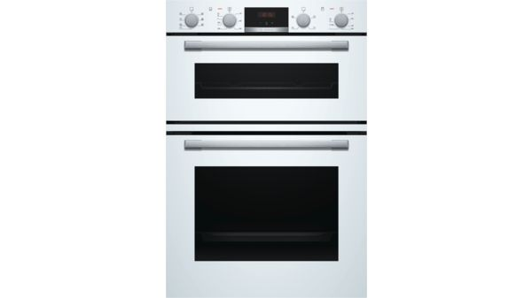 Serie | 4 Built-in double oven White MBS533BW0B MBS533BW0B-1