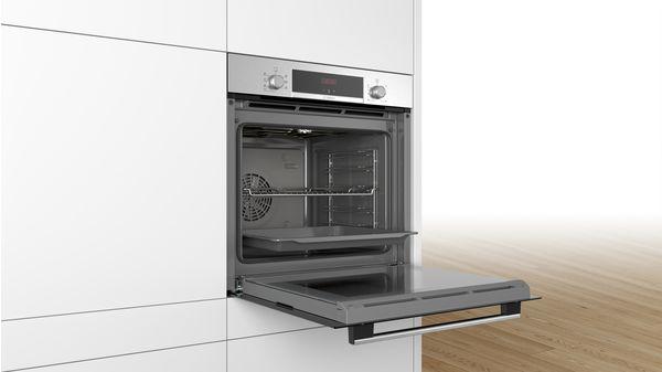 Serie   4 Εντοιχιζόμενος φούρνος 60 x 60 cm INOX HBA513BS00 HBA513BS00-3