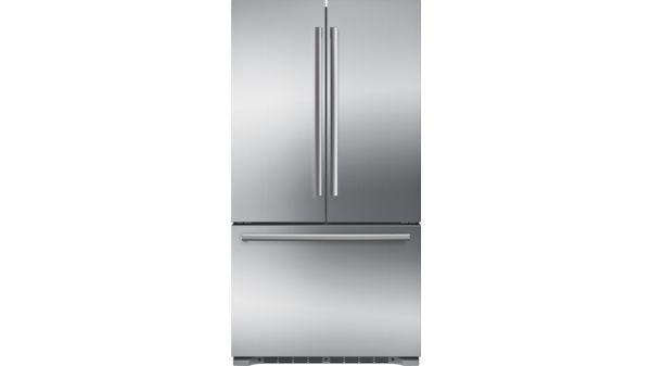 BOSCH   B21CT80SNS   French Door Bottom Mount Refrigerator