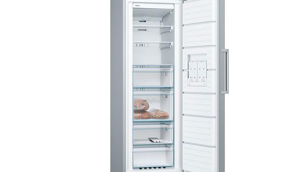 Portas Design Inox Congelador Vertical - Serie  c4534355ce89