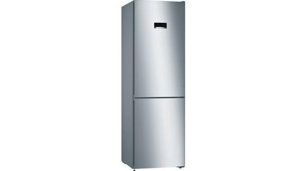 Kühlschrank No Frost Schwarz : Nofrost kühl gefrier kombination türen edelstahl mit anti
