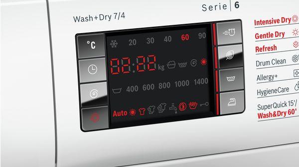 Serie | 6 Washer dryer 7/4 kg 1400 rpm WVH28424GB WVH28424GB-6