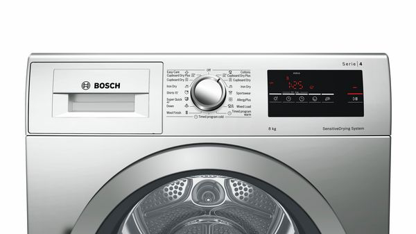 Serie | 4 Condenser Tumble Dryer 8 kg Inox-easyclean WTM8326SZA WTM8326SZA-6