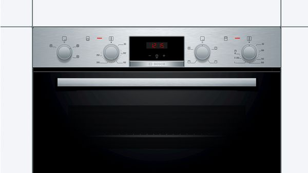 Serie | 2 Built-in double oven Stainless steel MHA133BR0B MHA133BR0B-2