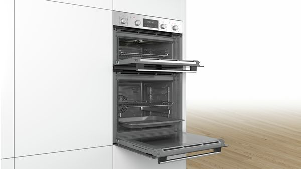 Serie | 6 Built-in double oven Stainless steel MBA5785S0B MBA5785S0B-3