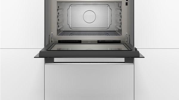 Serija |  6 Vgradna mikrovalovna pečica s funkcijo pare 60 cm iz nerjavečega jekla COA565GS0 COA565GS0-5