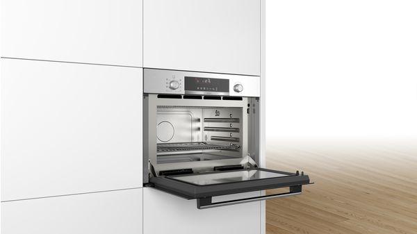 Einbau Mikrowelle Mit Dampfgarfunktion Serie 6 Coa565gs0 Bosch