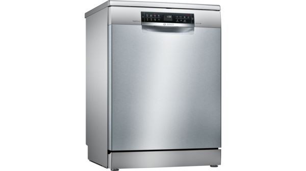 Serie   6 SuperSilence 60 cm dishwasher NO_FEATURE Freestanding - silver inox-1