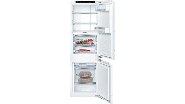Serie | 8 Built-in fridge-freezer with freezer at bottom 177.2 x 55.8 cm KIF84PF30 KIF84PF30-1