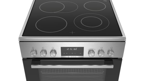 Serie | 6 Freestanding electric cooker Stainless steel HKS79R250A