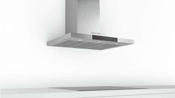 Serie | 6 Wall-mounted cooker hood 90 cm Stainless steel DWB98JQ50B DWB98JQ50B-5