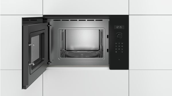 Bosch Bfl524mb0 Built In Microwave Oven