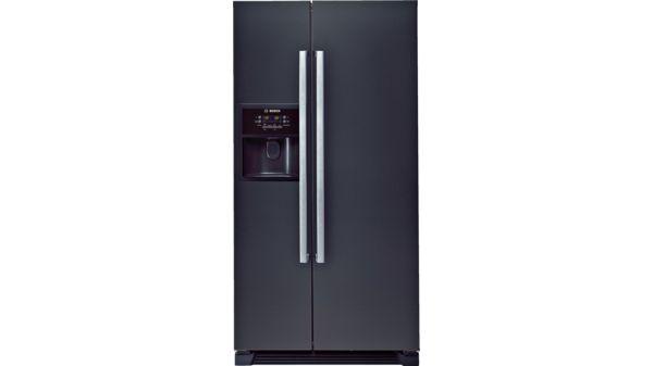 Frigo-congelatore Side by Side Nero - Serie   6 - KAN58A55   BOSCH