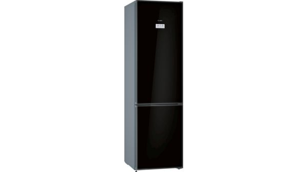 Bosch Kühlschrank Schwarz : Nofrost kühl gefrier kombination türen schwarz serie