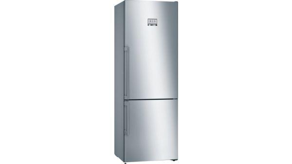 Kühlschrank Alarm Offene Tür : Nofrost kühl gefrier kombination türen edelstahl mit anti