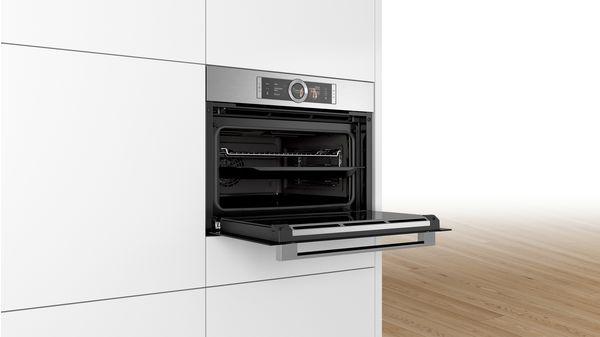 8系列 精巧型嵌入式蒸烤爐 不銹鋼 CSG656BS2 CSG656BS2-2