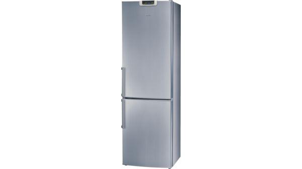 Bosch Kühlschrank Einstellung Super : Kgf a edelstahl optik kühl gefrier kombination kgf a bosch