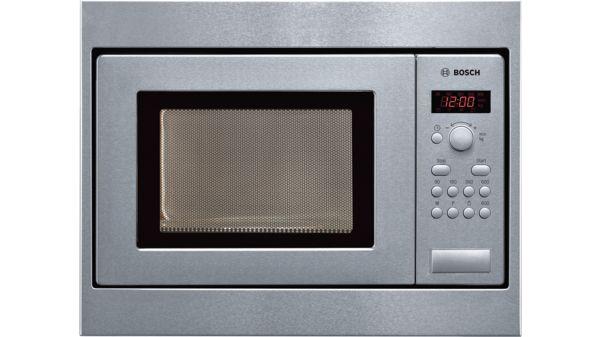 Serie 2 Einbau Mikrowelle Edelstahl Hmt75m551