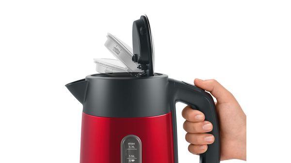DesignLine Boiler 1.7 l Red TWK4P434 TWK4P434-9