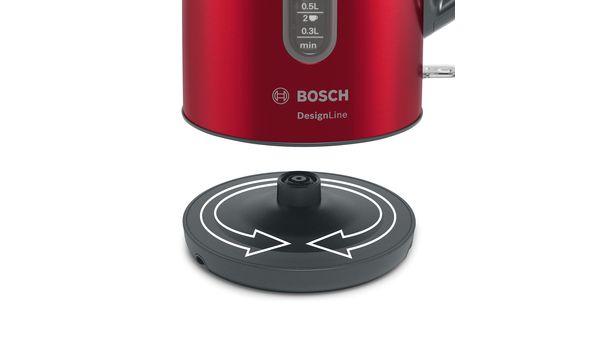 DesignLine Boiler 1.7 l Red TWK4P434 TWK4P434-4