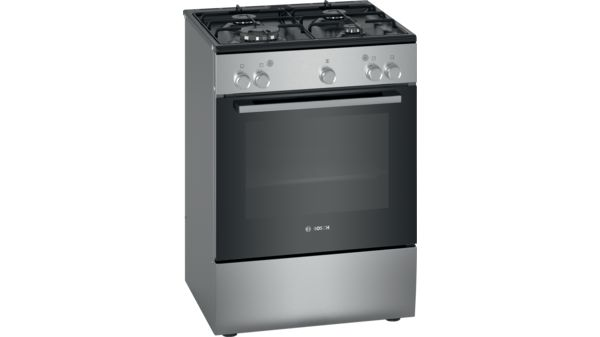 Serie | 2 Freestanding gas cooker Stainless steel HGU020L50 HGU020L50-1