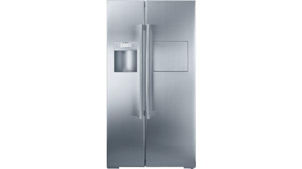 Side By Side Kühlschrank Kindersicherung : Kad63a70 edelstahl kühl gefrier kombination side by side kad63a70